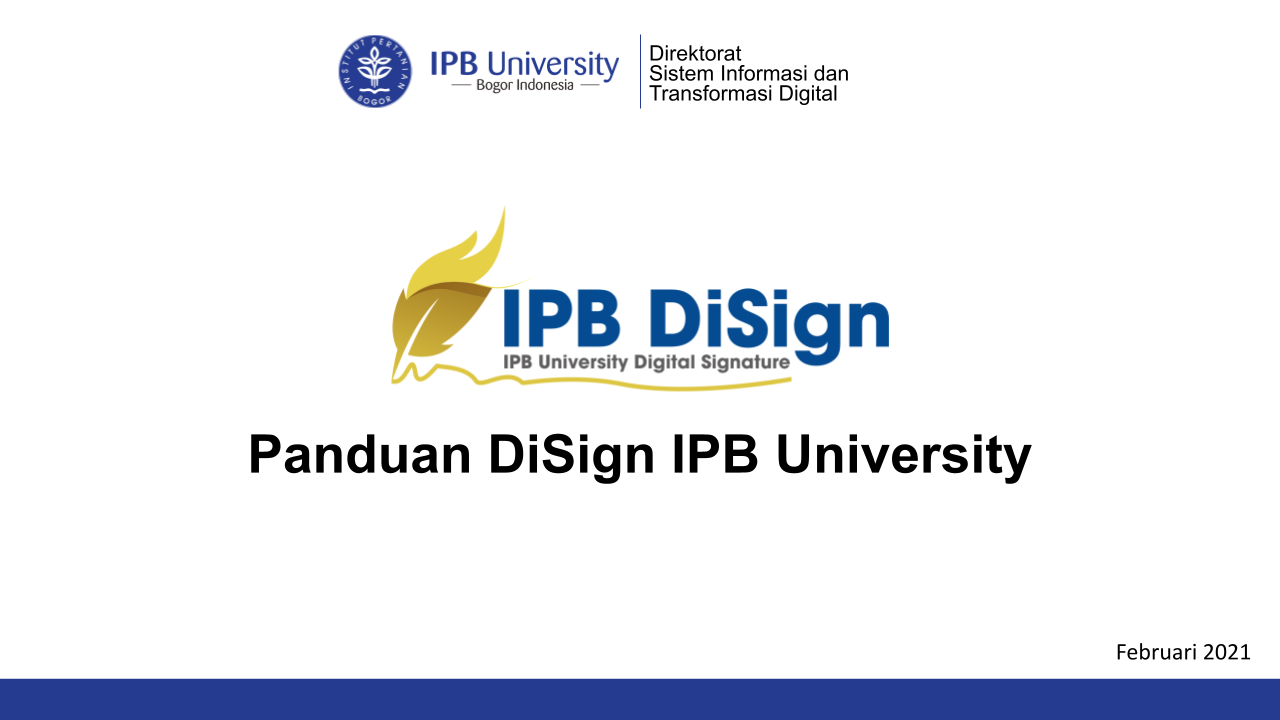Panduan DigiSign IPB University